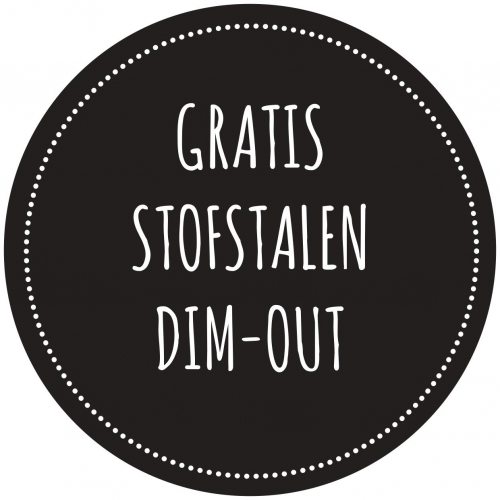 Stofstalen Dim-out stof